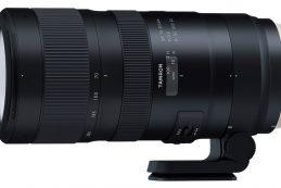 Полнокадровый объектив Tamron SP 70-200mm F2.8 Di VC USD G2