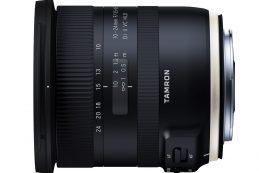 Tamron 10-24mm F3.5-4.5 Di II VC HLD, базируется по популярном широкоугольнике формата APS-C