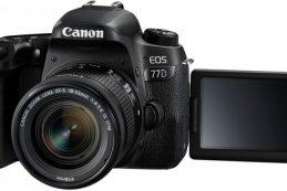 Компания Canon представила новую зеркальную камеру EOS 77D