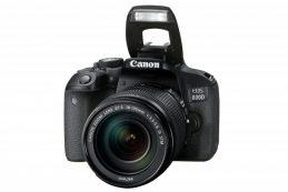 Компания Canon представила новую зеркальную камеру EOS 800D