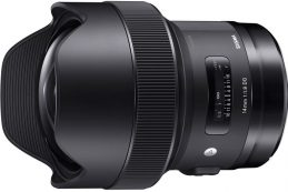 Компания Sigma анонсировала полнокадровый объектив Sigma 14mm F1.8 DG HSM Art