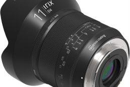 Компания Irix объявила о доступности полнокадрового объектива Irix 11mm f/4
