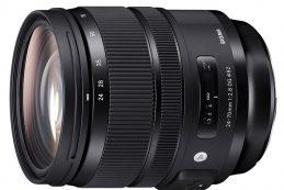 Компания Sigma представила универсальный светосильный зум-объектив Sigma 24-70mm F2.8 DG HSM OS Art