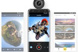 Insta360 Air — камера, предназначенная для осуществления панорамной съёмки с углом охвата 360 градусов