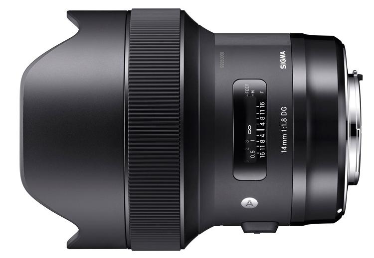 Sigma 14mm F1.8 DG HSM Art и 135mm F1.8 DG HSM Art: объективы с фиксированным фокусным расстоянием