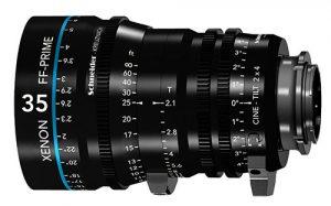 Компания Schneider Kreuznach представила линейку объективов Xenon FF-Prime Cine-Tilt