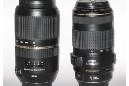 Компания Tamron анонсировала объектив SP 70-300mm F/4-5.6 Di VC USD