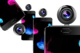 Elephone опубликовала тизер-изображение любопытного аксессуара для смартфонов — небольшой камеры для панорамной съёмки с углом охвата 360 градусов