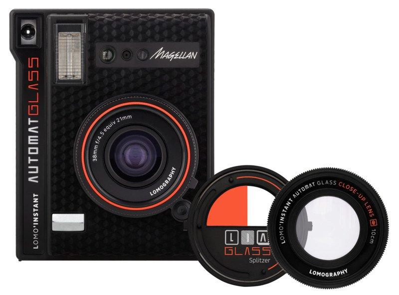Компания Lomography анонсировала новую камеру под названием Lomo'Instant Automat Glass