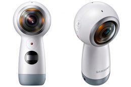 Компания Samsung Electronics представила новую камеру Gear 360 для панорамной съёмки