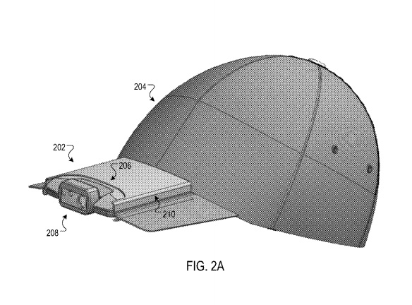 Google получила патент на головной убор со встроенной камерой и громкоговорителем