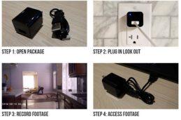 Камера LookOut Charger в виде зарядного устройства