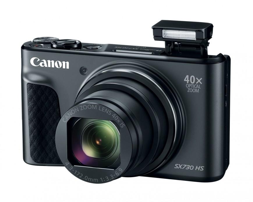 Компания Canon представила новую компактную камеру PowerShot SX730 HS