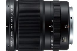 Корпорация Fujifilm в июне выпустит объективы Fujinon GF110mmF2 R LM WR и Fujinon GF23mmF4 R LM WR
