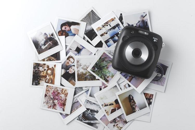 Fujifilm показала новый гибридный мгновенный фотоаппарат Instax Square SQ10