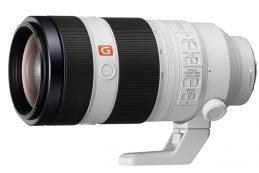 Корпорация Sony Electronics анонсировала объектив FE 100-400mm F4.5–5.6 GM OSS Super Telephoto Zoom