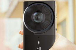 Компания YI Technology анонсировала компактную камеру YI 360 VR