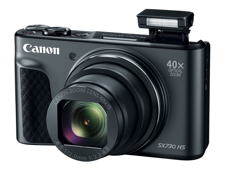 Компания Canon представила камеру PowerShot SX730 HS