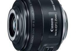 Компания Canon анонсировала объектив EF-S 35MM F/2.8 Macro IS STM