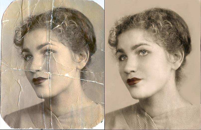 Старость как радость: старые фотографии после реставрации