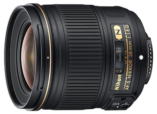 Назван срок анонса полнокадрового объектива Nikon с фокусным расстоянием 28 мм и максимальной диафрагмой F/1,4