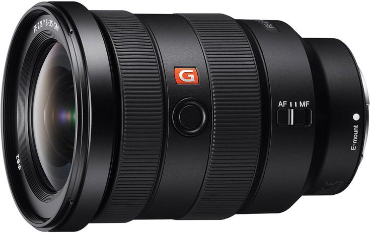 Полнокадровый широкоугольный объектив Sony FE 16-35mm F2.8 GM (SEL1635GM) оценен производителем в $2200