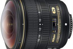 Объектив AF-S Fisheye Nikkor 8-15mm f/3.5-4.5E ED — первый полнокадровый «рыбий глаз» Nikon с изменяемым фокусным расстоянием