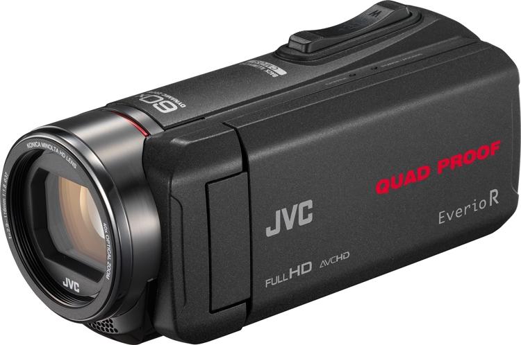Видеокамеры JVC GZ-R550 и GZ-R440 не тонут в воде