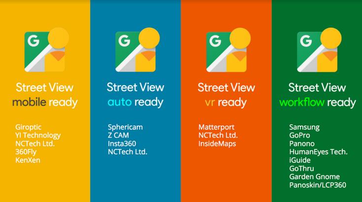 Google поспособствует появлению потребительских сферических камер, работающих с сервисом Street View