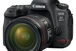 Появились подробные спецификации зеркальной камеры Canon EOS 6D Mark II