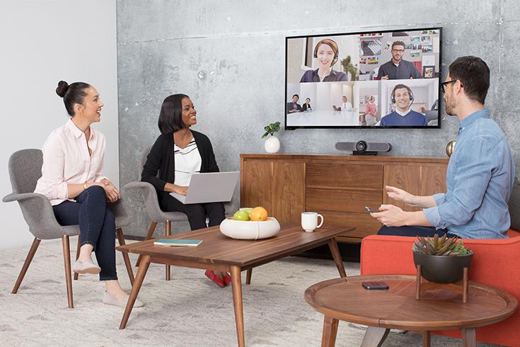 Камера для видеоконференций Logitech MeetUp предназначена для небольших комнат