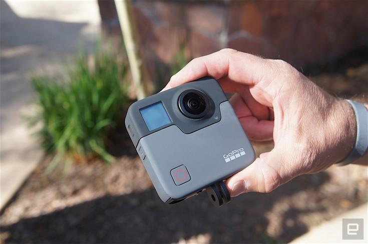 GoPro показала свою сферическую камеру Fusion, но не раскрыла характеристик, стоимости и даты анонса