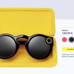 Очки Snapchat Spectacles появились в Европе