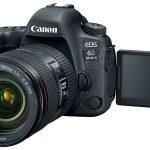 Дебют долгожданного зеркального фотоаппарата Canon EOS 6D Mark II