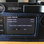 Выпущено обновление прошивки Leica M10 до версии 1.7.4.0