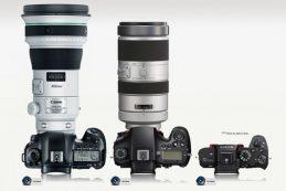 Прототипы Sony FE 400mm