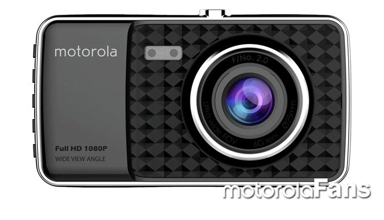 Motorola выпустит видеорегистратор с 4″ сенсорным дисплеем