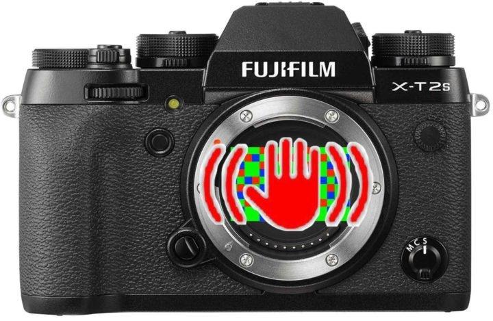 Встроенная в Fujifilm X-T2S стабилизация будет работать со всеми объективами Fujinon