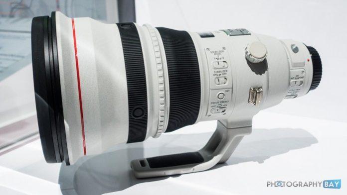 Canon обновит два супер-телеобъектива