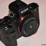 Появилось изображение очень компактного полнокадрового объектива с креплением Sony E