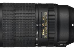 Nikon представила телеобъектив AF-P Nikkor 70–300mm f/4.5-5.6E ED VR