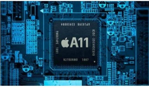 В Сеть слили первое фото процессора А11 для iPhone 8