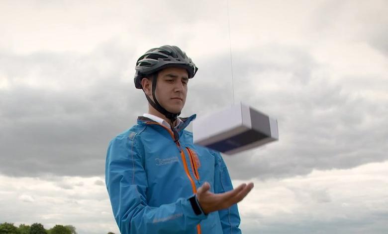 DelivAir использует дронов для доставки не по адресу, а по текущему местоположению адресата
