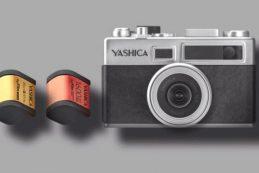 Цифроплёночная камера Yashica Y35
