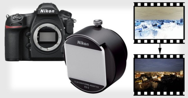 Nikon D850 – первая зеркалка с режимом оцифровки плёночных негативов