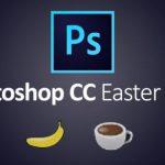 Пасхальные яйца Photoshop CC: обезьяна, банан, кофе и тосты