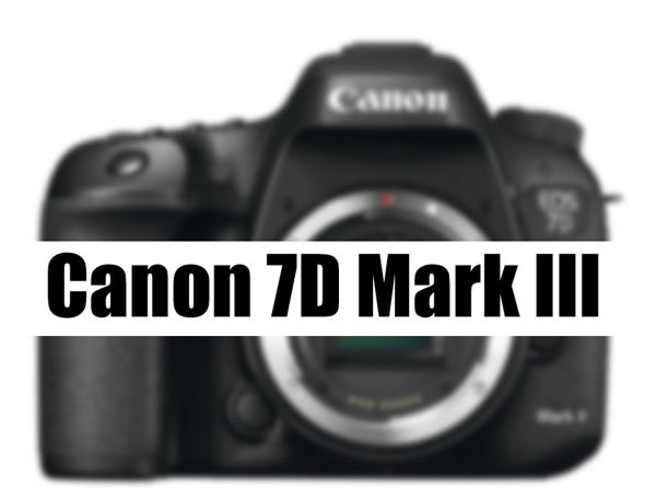 Canon EOS 7D Mark III будет представлена в марте?