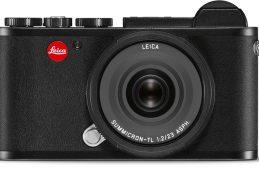 Фотокамера Leica CL оснащена видоискателем и сенсорным дисплеем