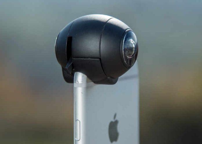 Fishball 360. Сферическая оптика для iPhone