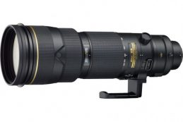 Nikon анонсирует AF-S Nikkor 180-400mm F/4 ED VR TC